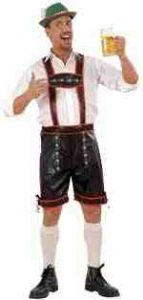 Leatherlook Lederhosen Costume (5756)
